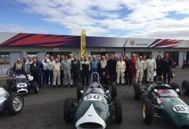 FJ drivers Silverstone Classic 2017